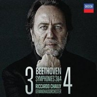 Audio CD Riccardo Chailly. Beethoven: symphonies 3 & 4