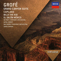 Audio CD Grofe. Grand canyon suite / Copland. Billy the kid