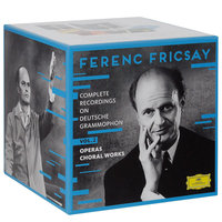 DVD + Audio CD Ferenc Fricsay. Complete recordings on Deutsche Grammophon. Vol. 2. Operas choral works