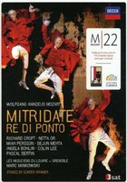 DVD Various Artists. Mozart: Mitridate, Re Di Ponto