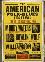 DVD Various Artists. The American Folk Blues Festival 1963-66. British