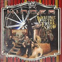 Audio CD Hinder. Welcome to the freakshow