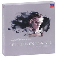DVD + Audio CD Daniel Barenboim. Beethoven. Beethoven For All. The Deluxe Edition