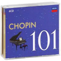 Audio CD Various Artists. 101 Chopin