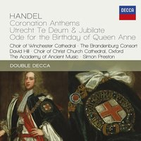 Audio CD Various Artists. Handel: Four Coronation Anthems