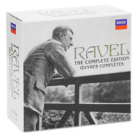 Audio CD Various Artists. Ravel. The Complete Edition
