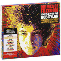 Audio CD Various Artists. Chimes Of Freedom. The Songs Of Bob Dylan