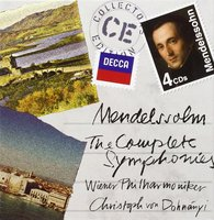 Audio CD Wiener Philharmoniker. Mendelssohn: The Complete Symphonies