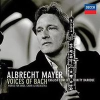 Audio CD Albrecht Mayer. Cantilena. Voices Of Bach