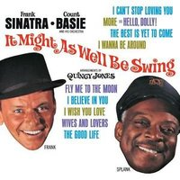 Audio CD Frank Sinatra. It might as well be swing (rem)