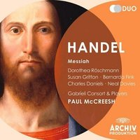 Audio CD Paul McCreesh. Gabrieli Consort & Players. Handel. Messiah