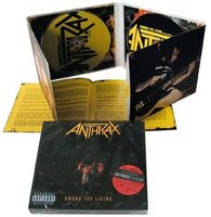 DVD + Audio CD Anthrax. Among the living (Deluxe)