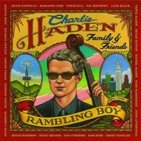 Audio CD Charlie Haden. Family & friends - rambling boy
