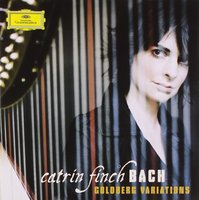 Audio CD Catrin Finch. Bach: Goldberg Variations, BWV 988