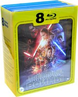 Звездные войны. Эпизоды I, II, III, IV, V, VI, VII (8 Blu-Ray) / Star Wars: Episode I: The Phantom Menace / Star Wars: Episode II - Attack of the Clones / Star Wars: Episode III - Revenge of the Sith / Star Wars: IV: A New Hope / Star Wars: Episode V: The Empire Strikes Back / Star Wars: Episode VI: Return of the Jedi