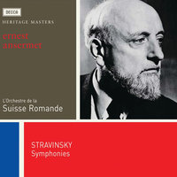 Audio CD Сборник. Stravinsky: 3 Symphonies