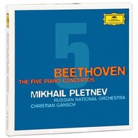 Audio CD Mikhail Pletnev, Beethoven. The Five Piano Concertos