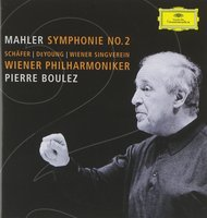 Audio CD Wiener Philharmoniker. Mahler: Symphony No.2