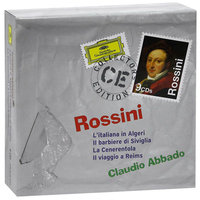 Audio CD Claudio Abbado. Rossini. 4 comic operas & overtures