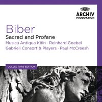 Audio CD Various Artists. Biber: Sacred And Profane