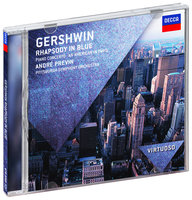 Audio CD Andre Previn. Gershwin: Rhapsody In Blue