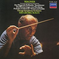 Audio CD Sir Georg Solti. Wagner: Overtures & Preludes