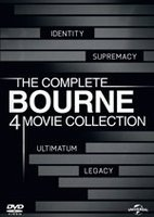 Полная коллекция Борна: Квадрология (4 DVD) / The Bourne Identity / The Bourne Supremacy / The Bourne Ultimatum / The Bourne Legacy