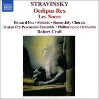 Audio CD Stravinsky. Oedipus Rex / Les Noces