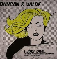 Audio CD Duncan & Wilde. I Just Died