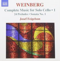Audio CD Josef Feigelson. Music for Solo Cello 1