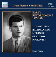 Audio CD Emil Gilels. Gilels: Early Recordings 2