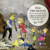 Audio CD London Symphony Orchestra,Andre Previn. Das Orchester. For Kids