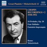 Audio CD Frederic Chopin. Moiseiwitsch: Chopin Recordings