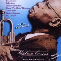Audio CD Calvin Owens. True Blue