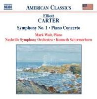 Audio CD Carter �. Piano Concerto / Symphony No. 1 / Holiday Overture