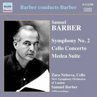 Audio CD Samuel Barber. Barber:Cello Concerto.Medea.Ad