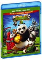Кунг-фу Панда 3 (Real 3D Blu-Ray + Blu-Ray)