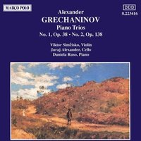 Audio CD Alexandr Grechaninov. Piano Trios 1 & 2.