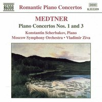 Audio CD Medtner. Piano Concertos Nos. 1 and 3