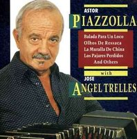 Audio CD Astor Piazzolla with Jose Angel Trelles