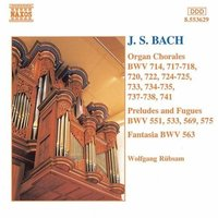 Audio CD Johann Sebastian Bach. Organ Chorales, Preludes and Fugues, Fantasia.