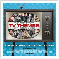 Audio CD Various Artists. The Greatest TV Themes Of The 50s & 60s