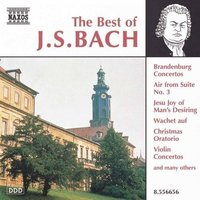 Audio CD Various. The Best of J.S. Bach