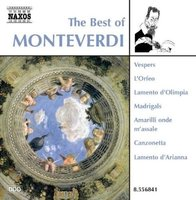 Audio CD Various. The Best of Monteverdi