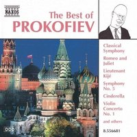 Audio CD Various. The Best of Prokofiev