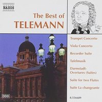 Audio CD Various. The Best of Telemann
