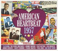 Various Artists. American Heartbeat 1957 (2 CD)