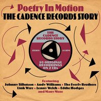 Audio CD Various Artists. Poetry In Motion: The Cadence Records Story