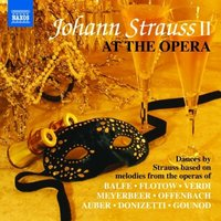 Audio CD Various Artists. Johann Strauss At The Opera