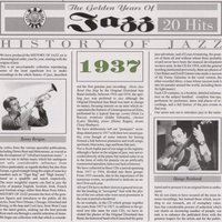 Audio CD Various Artists. History of Jazz 1937